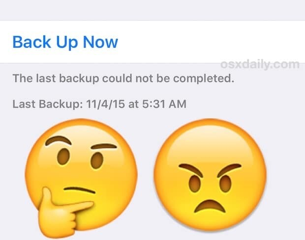 iPhone won't back up to iCloud! Here's a quick fix